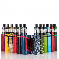 100%Smok Alien 220W Starter TC Kit with 100%Smok TFV8 Baby Beast Tank Full Kit Hot